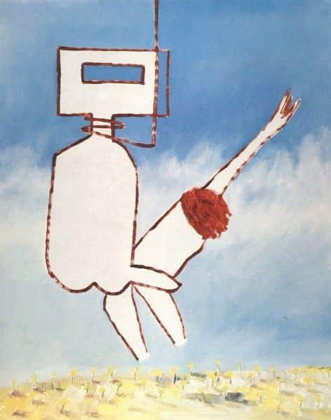 "Sidney Nolan, ""Beyond is Anything"", 1974"