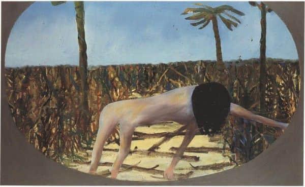 """Sidney Nolan, """"Mrs Fraser"""", 1947, Queensland Art Gallery"""