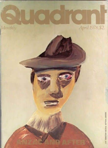 """Quadrant"", No. 129 Volume XXII No. 4, Sydney, April, 1978."