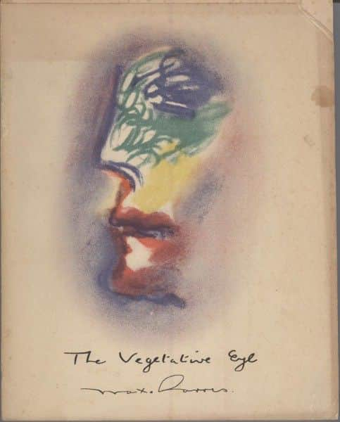 "Max Harris, ""The Vegetative Eye"", Reed & Harris, Melbourne, 1943."