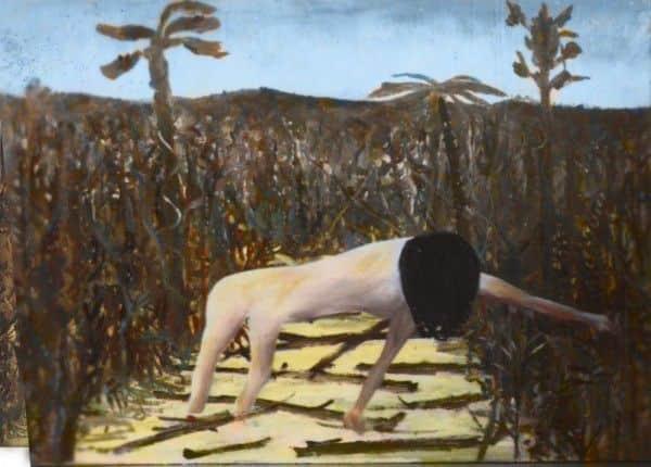 "Sidney Nolan, ""Urang Creek"",1947, computer enhanced reconstruction"