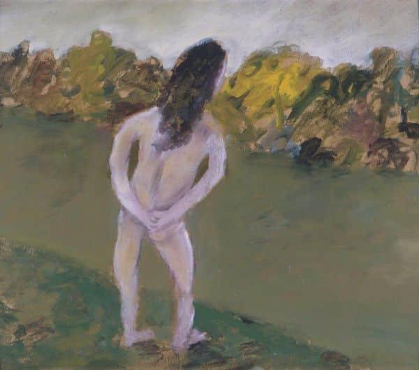 "Sidney Nolan, ""The Bather"", 1945, Hiede Museum of Modern Art"