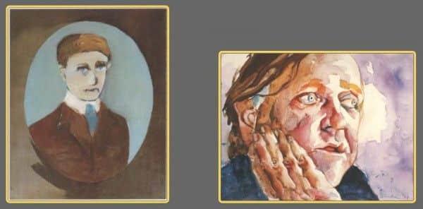 Barrett (Barrie) Reid: (1) by Sidney Nolan, 1947, Queensland Art Gallery; (2) by Albert Tucker, 1983, private collection