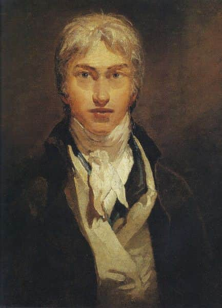 JMW Turner, Self Portrait, 1799, age 24