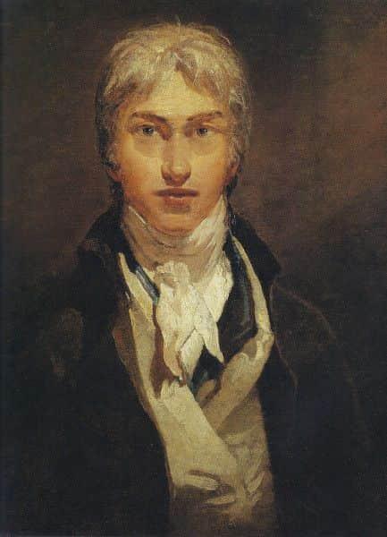JMW Turner, Self Portrait, 1799, age 24