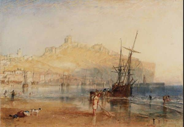 """Scarborough"", JMW Turner, 1825"