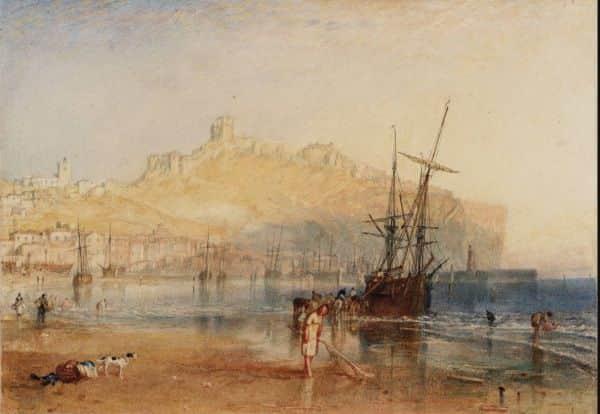 """Scarborough"", JMW Turner, 1825"
