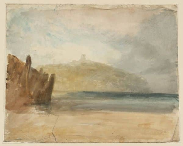 """Scarborough"", JMW Turner, c1820"