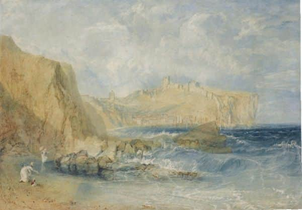 """Scarborough"", JMW Turner, 1818"