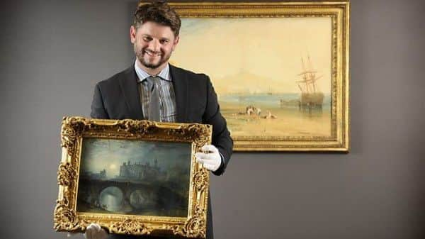 AGSA Director Nick Mitzevich announces Turner exhibition, October 2011