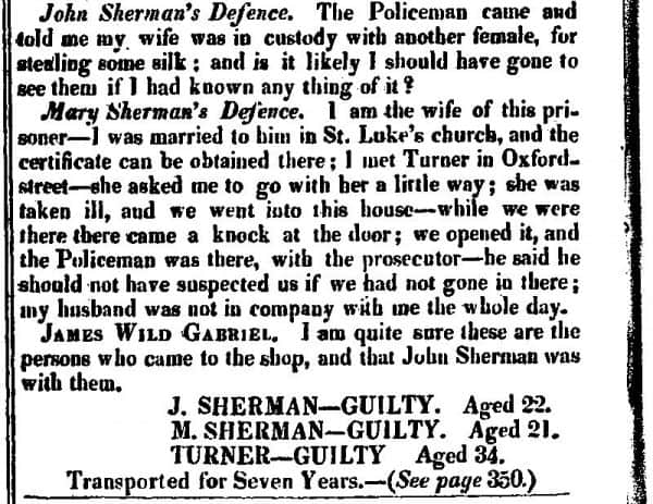Extract of Old Bailey Proceedings, fourth day of Sittings of 11 April 1833