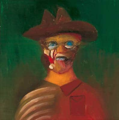 Sidney Nolan, Ern Malley 1973, Art Gallery of South Australia