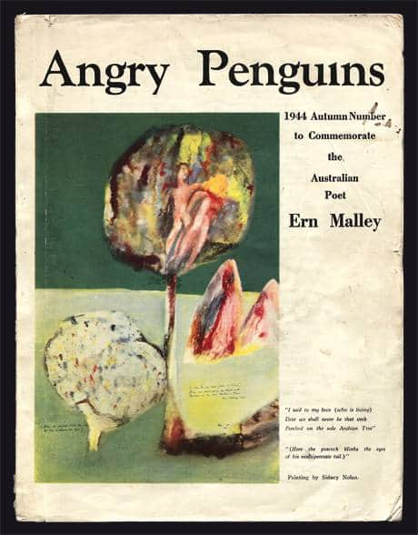 Sidney Nolan, Arabian Tree, 1943, Cover of Angry Penguins, No 6, June 1944