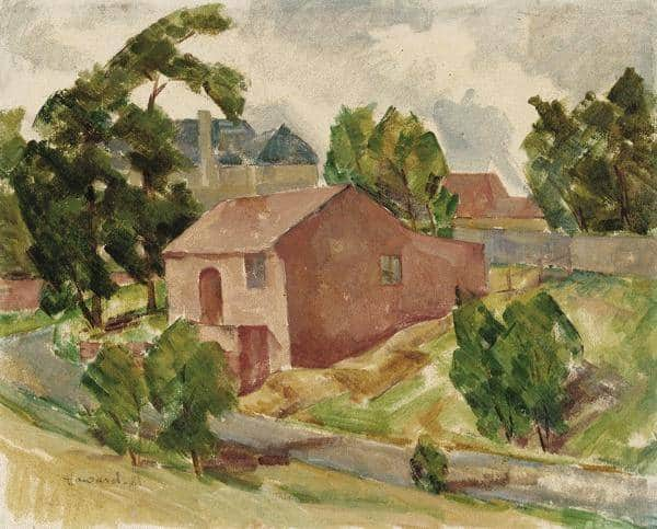 Howard Matthews, House at Clifton Hill, private collection.