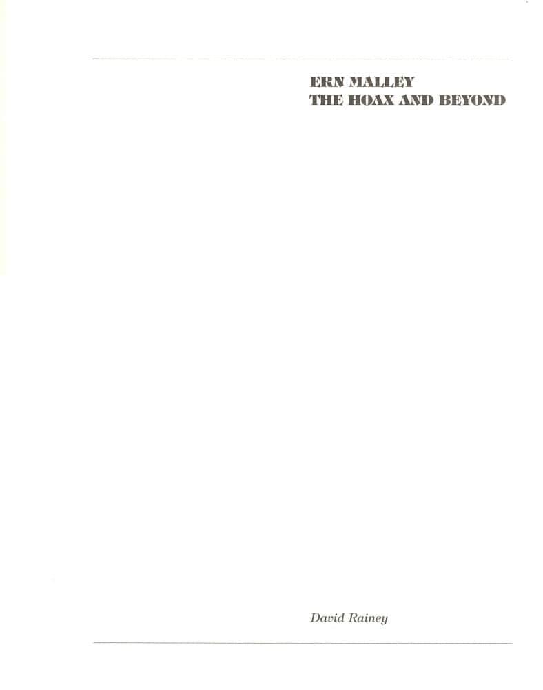 Hoax & Beyond p. 1