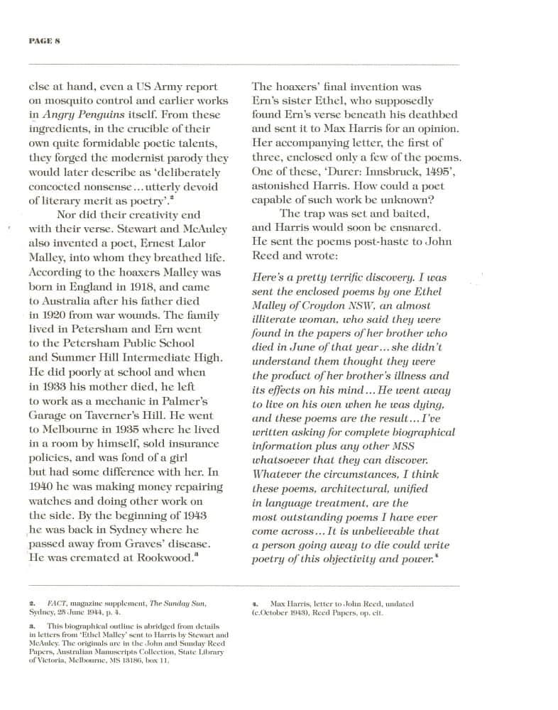 Hoax & Beyond p. 8