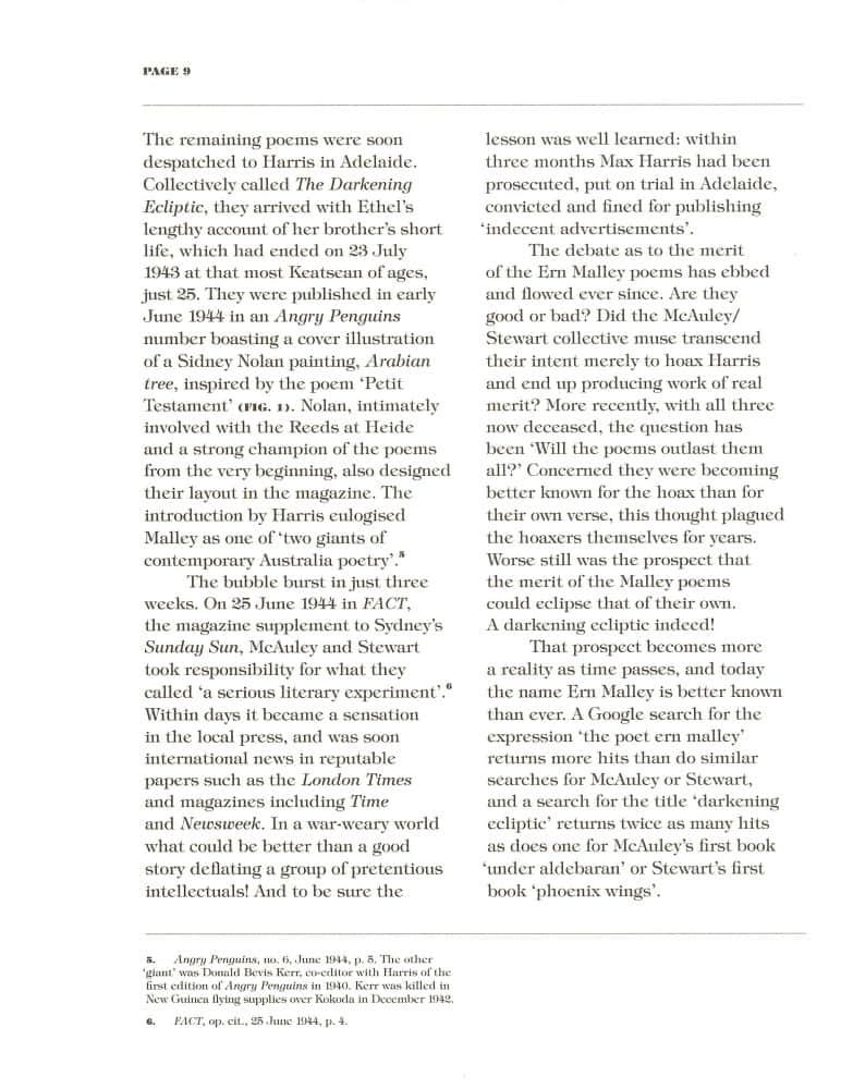 Hoax & Beyond p. 9