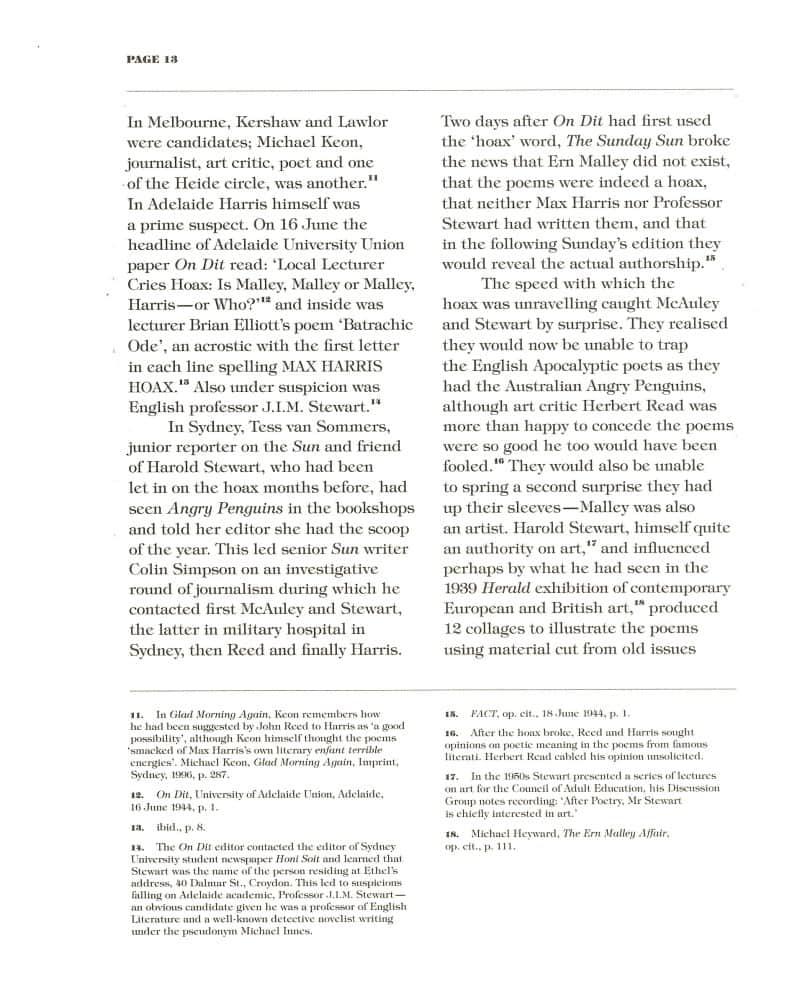 Hoax & Beyond p. 13