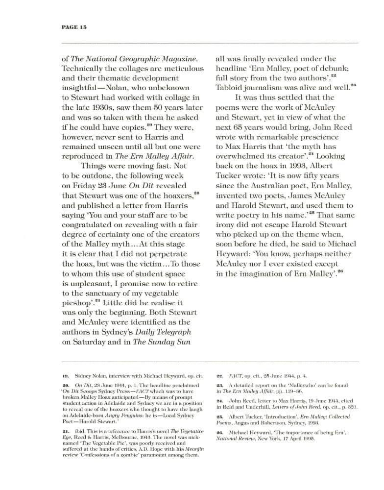 Hoax & Beyond p. 15