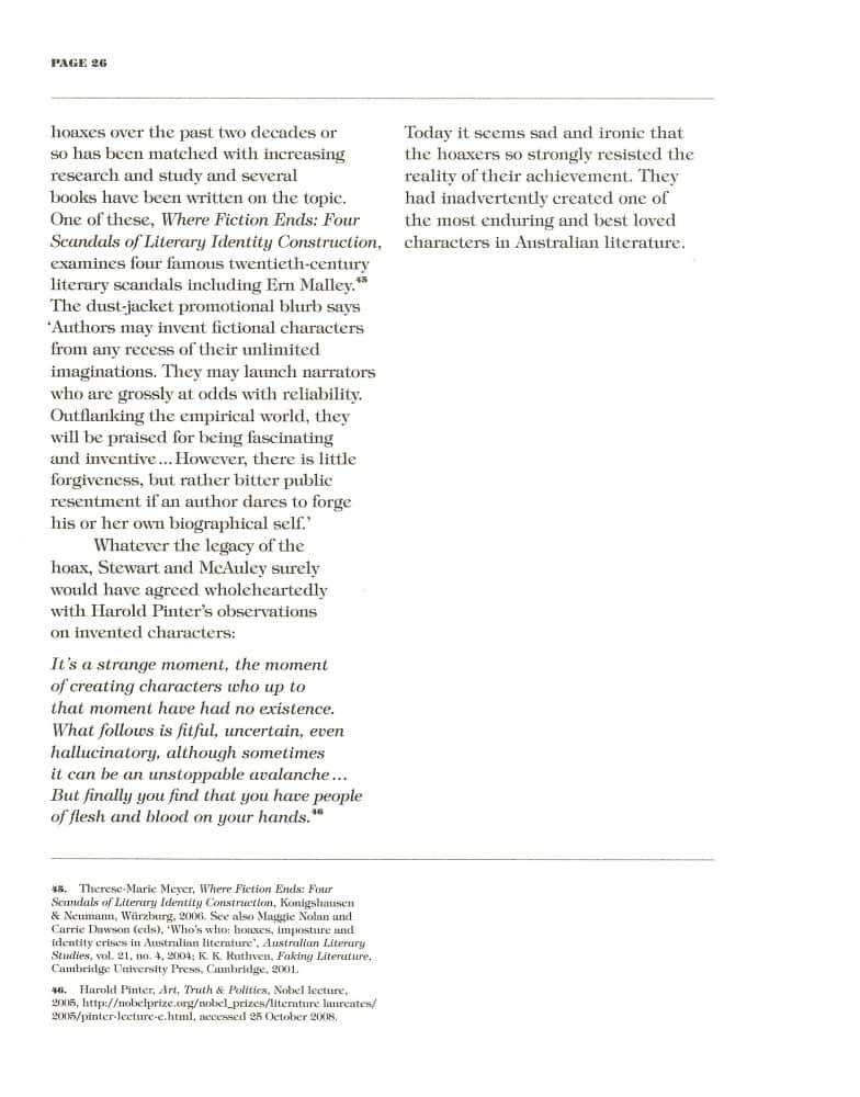 Hoax & Beyond p. 26