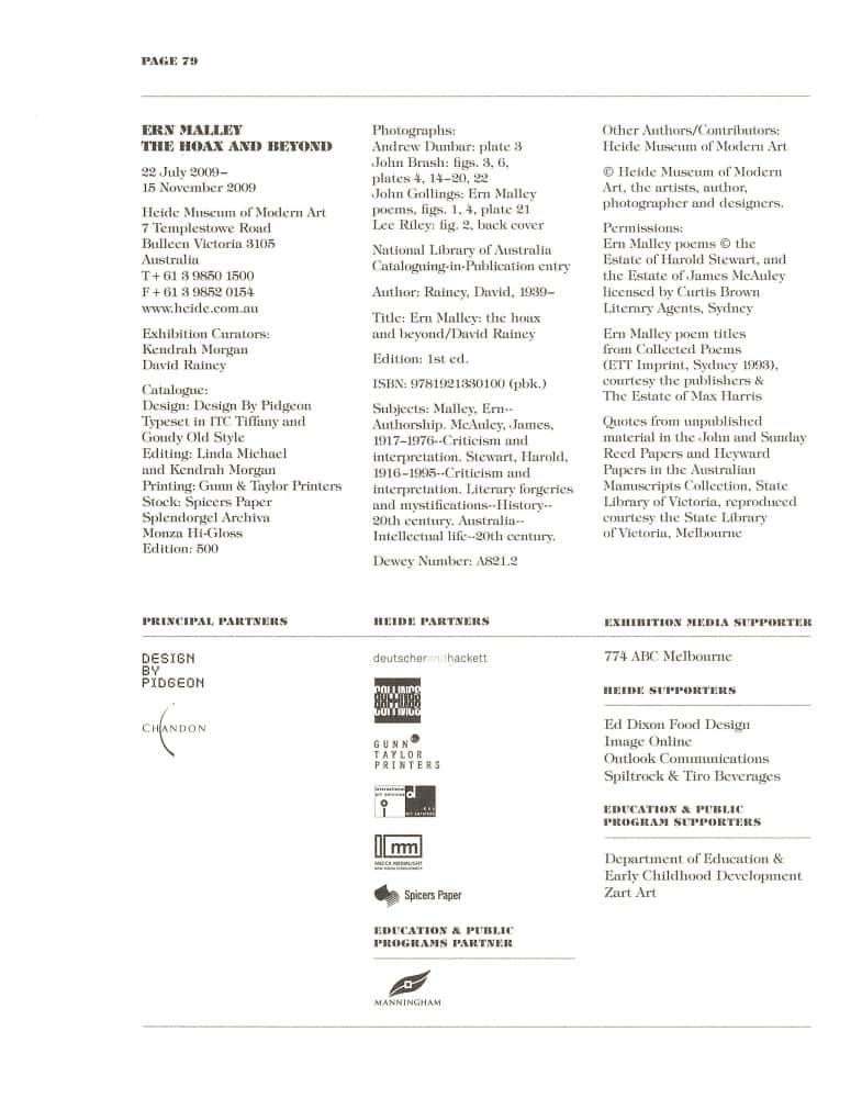 Hoax & Beyond p. 79