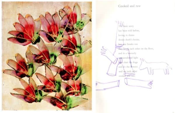 """Sidney Nolan's """"Cooked and Raw"""" from """"Paradise Garden"""" 1972"""