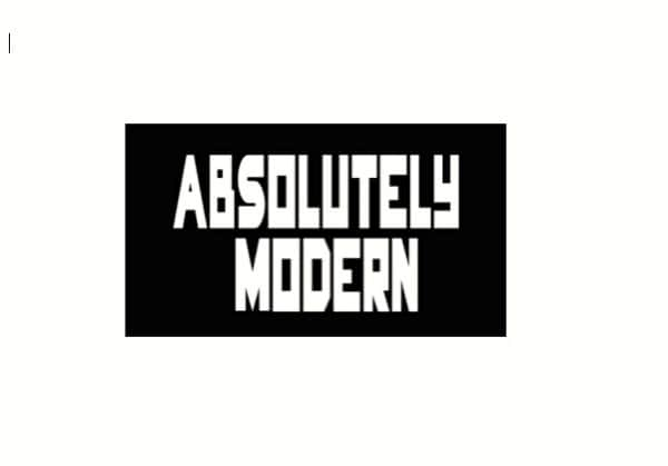 Absolutely Modern