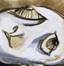 """Gethsamene"", c 1946, Joy Hester, Heide collection."