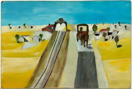 """Kiata"", 1943, Sidney Nolan, NGA collection."