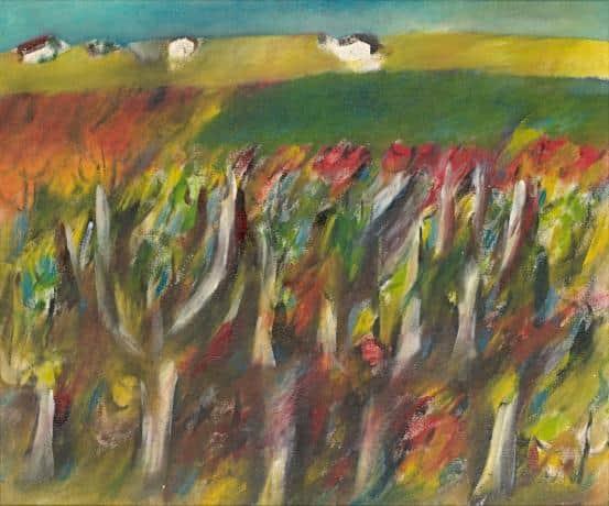 """Near Dimboola"", 1944, Sidney Nolan, NGV collection."