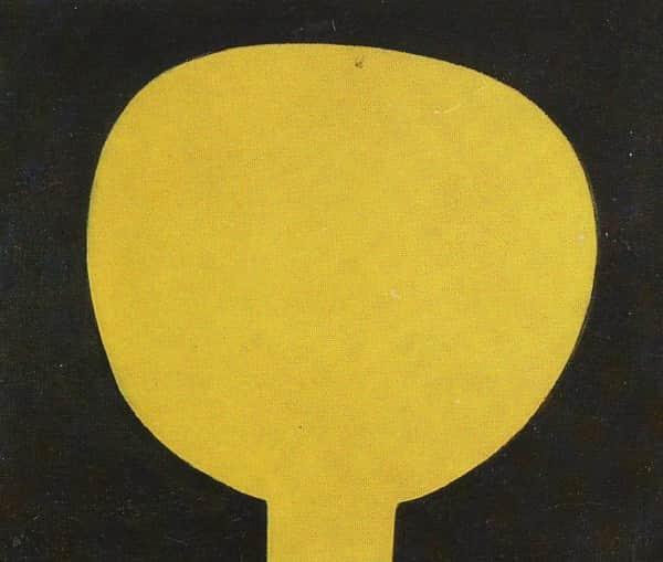 """Moonboy"" or ""Boy and the Moon"", c 1939-40, Sidney Nolan, NGA collection"