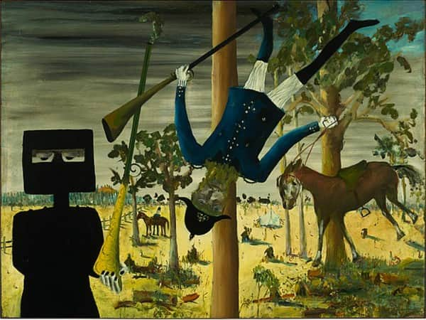 """Death of Constable Scanlon"", April 1046, Sidney Nolan, NGA collection."