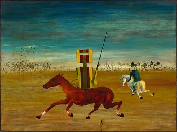 """The chase"", September-October 1946, Sidney Nolan, NGA collection."