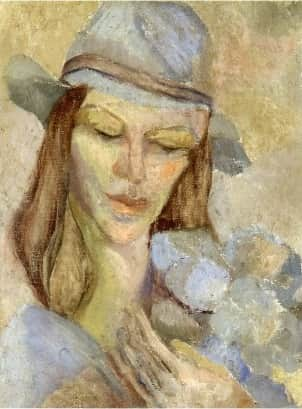 """""""Sunday"""", c 1934, Moya Dyring, Private collection."""