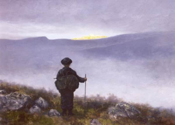 """Soria Moria Castle"", 1881, Theodor Kittelsen, Nationalgalleriet Oslo collection."
