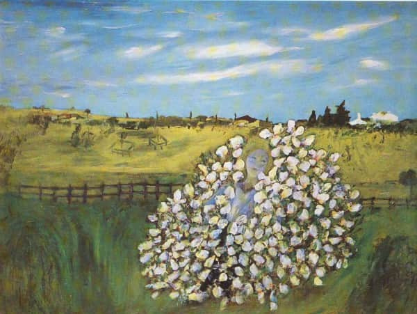 """Rosa Mutabilis"", 1945, Sidney Nolan, Heide Museum of Modern Art collection"
