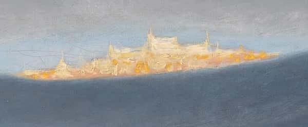 "Detail from""Soria Moria Castle"", 1881, Theodor Kittelsen, Nationalgalleriet Oslo collection."