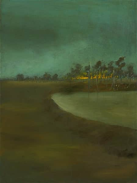 """Landscape"", January 1947, Sidney Nolan, NGA collection."