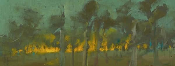 "Detail from ""Landscape"", January 1947, Sidney Nolan, NGA collection."