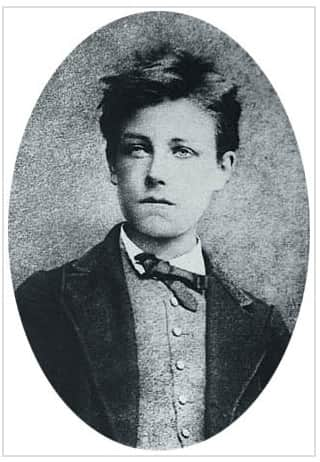 Arthur Rimbaud, photo by Etienne Carjat, Paris, October 1871