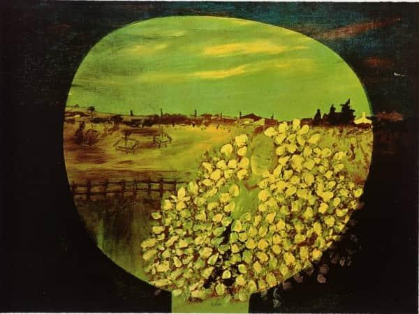 """Homage aux Prix Nobel"", 1974, Sidney Nolan"