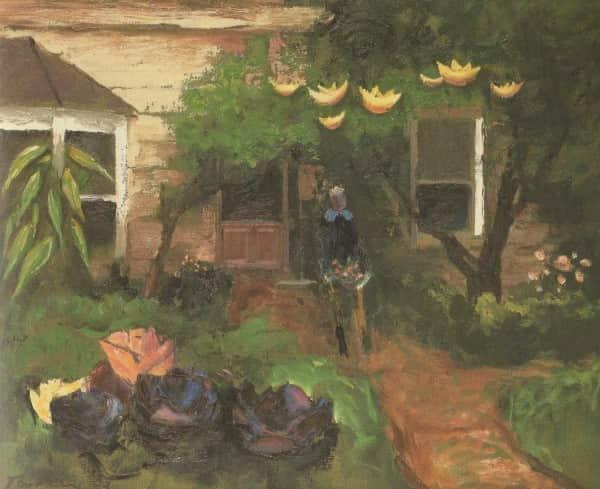 """Albert Tucker, """"Bonjour Monsieur Rimbaud"""", 1983"""