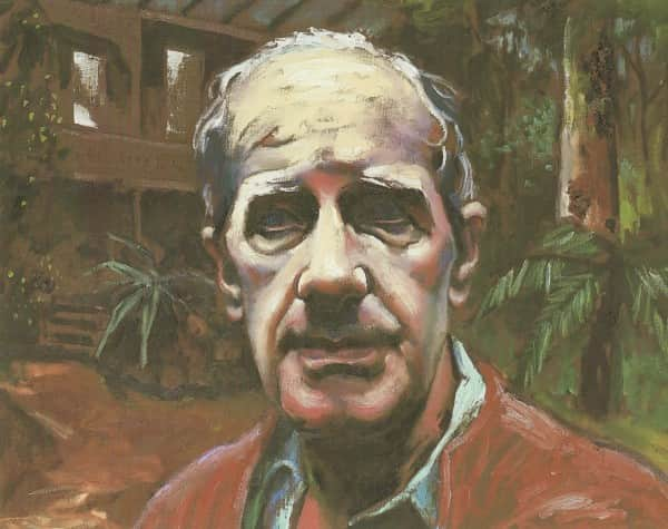 "Albert Tucker, ""Portrait of Sidney Nolan c. 1976"", 1983"