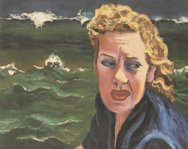 "Albert Tucker, ""Portrait of Joy Hester"", 1983"
