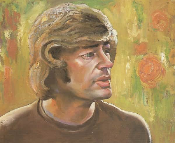 "Albert Tucker, ""Portrait of Sweeney Reed"", 1983"